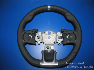Fiat Abarth 500 595 2016 Multifunction Buttons Leather Steering Wheel Mfl