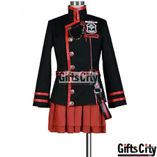 D.Gray-man Lenalee Lee 3G Uniform COS Cloth Cosplay Costume