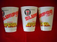 3 - 7 Eleven Slurpee Video Cups.
