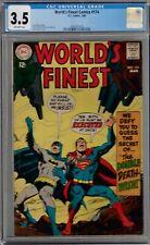 Comic - 1968 World's Finest #174 CGC 3.5