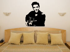 Elvis Presley Bedroom Living Room Music Lyrics Decal Wall Art Sticker Picture
