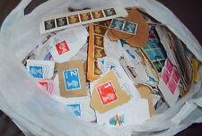 Libre de gastos de envío a todo el mundo, 2KG Gran Bretaña DEFINITIVES sobre papel, ordenadas Kilo Ware