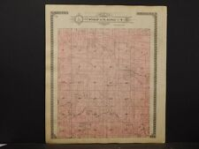 Missouri, Monroe Cty. Map Marvin & Jackson or Clay&Woodlawn Township 1917 K6#44