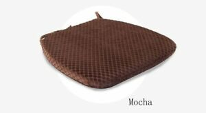 Cushion Seat Rebound Memory Slow Foam Office Chair Dining Hip Pads Cotton Mat