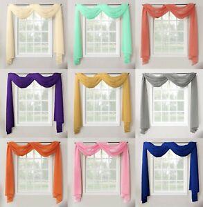 Voile Curtains Drapes Valances For Sale Ebay