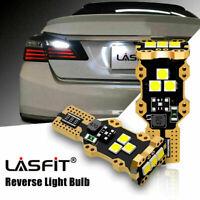 Lasfit CANBUS LED Backup Reverse Light Bulb 921 912 T15  Bulbs Lamps 6000K White