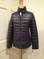 Calvin Klein Lightweight Jacket Puffer Premium Packable Down Blue Spruce PS