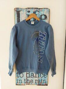 Vintage Retro Titan Goodyear Sweater Sweatshirt Size S Logo