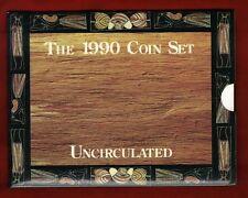 1990 Australia UNC Set - Royal Australia Mint Uncirculated Six Coin Collection