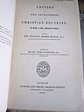 (1850) Letters on the Development of Christian Doctrine, Reply to Newman's Essay