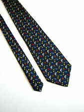 PURA SETA  Cravatta Tie 100% SETA SILK MADE IN ITALY ORIGINALE