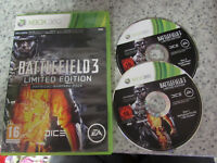 XBOX 360 GAME BATTLEFIELD 3 LIMITED EDITION PHYSICAL WARFARE PACK
