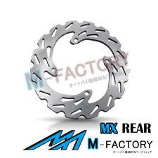 Rear Brake Disc MX Rotor x1 Fit KAWASAKI KX 450F 06-16 07 08 09 10 11 12 13