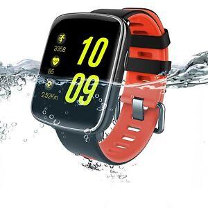 Waterproof Bluetooth Smart Watch gift men women apple ios  android lg
