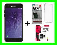 Samsung Galaxy J3 2018 Black ORBIT/STAR 16GB Factory Unlocked World GSM + GIFTS