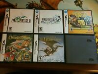 Nintendo DS 6 game lot Final Fantasy III Crystal Chronicles Children of mana