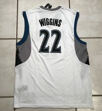 NWT ADIDAS Minnesota Timberwolves Andrew Wiggins HOME Replica Jersey Men's Large