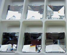 Swarovski 2484 Clear Crystal CAL SI 20mm UnFoiled Crystal Stone - 1 Piece