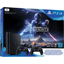 SONY PlayStation 4 1TB + Star Wars Battlefront 2 + DualShock4 Controller PS4 NEU