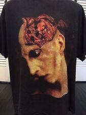 Vtg Marilyn Manson Born Again Tour Shirt Sz XL Alternative Rock Satan Goth Metal