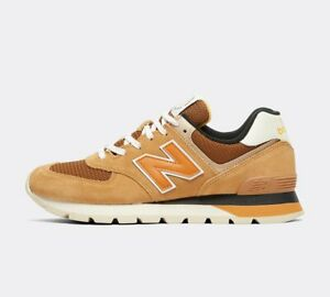 New Balance ML574 Trainer | Tan / White | LIMITED STOCK AND SIZES