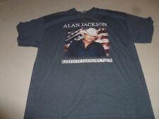 Alan Jackson 2015 Keepin It Country Tour Concert Shirt Size 2Xl Grey Mens Tee >