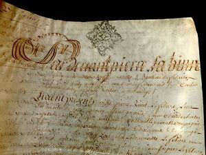 PARCHMENT DOCUMENT 1772