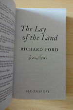 """Richard Ford AUTOGRAFO SIGNED libro tascabile """"the lay of the Land"""""""
