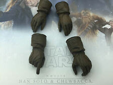 1/6 hot toys Star Wars Force Awakens Han Solo MMS376 - Winter gloves