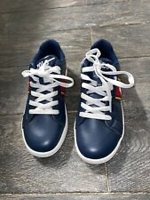 Polo Ralph Lauren Quigley Navy/Red/Yellow Smooth Youth