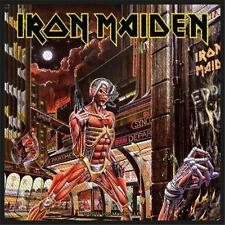 OFFICIAL LICENSED - IRON MAIDEN - SOMEWHERE IN TIME ONE SEW ON PATCH METAL