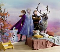Children's bedroom wallpaper mural Frozen 2 Elsa Anna Disney big poster + GLUE