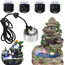 LED Aquarium Vernebler Luftbefeuchter Nebelmaschine Fogger Ultraschall Nebler DE