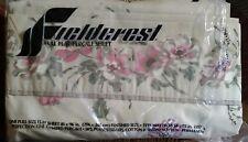 Vintage Fieldcrest  Full Flat Sheet SACHET New