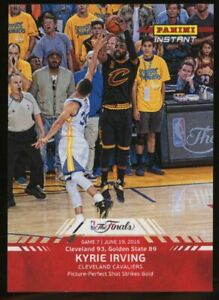 2016 Panini Instant NBA Finals #12 Kyrie Irving Cleveland Cavaliers