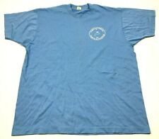VINTAGE Screen Stars Shirt Size XXL 2XL Blue T 80s USA RELATIVES ARE EVERYTHING