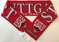 Stuttgart Football Scarves New from Soft Luxury Acrylic Yarns