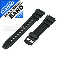 Genuine Casio Watch Band WS-200H-1AV WS-200H-1BV WS-210H-1AV Black Rubber Strap