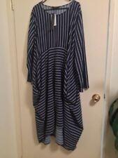 Stripes Midi Dresses for Women's Shift Dresses