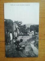 CPA Mali  - village indigène Bambara - années 20
