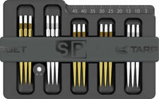 New listing TARGET SWISS POINT SAFE - Milled Aluminium, Holds 5 sets + Magnetic -FREE UK P&P