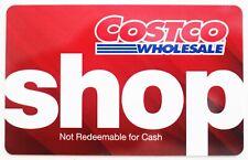 COSTCO WHOLESALE CASH GIFT CARD ~ $0 ZERO BALANCE