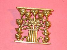 Flowering Lotus Pin ~ Museum Of Modern Art ~ Gold Plate ~ Vintage