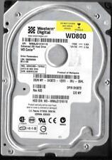 WESTERN DIGITAL WD800BB-75FRA0 80GB IDE HARD DRIVE  DCM: HSBHCVJAH