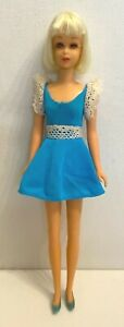 Vintage 1970 Mattel Barbie #1122 Francie Hair Happenins Doll Orig Outfit  *3 DAY
