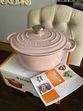 Brand New Le Creuset Signature Round Casserole 20cm Chiffon Pink
