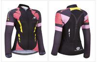 Womens Cycling Clothing  Jersey Sportswear Long Sleeve Mtb Bike Top Shirt