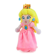 Super Mario Bros Peach Princess Soft Plush Doll Toys 7inch