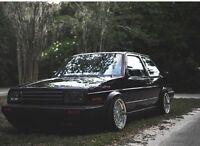 MK2 Golf BMW 15x8 15x9 4x100 DEEP DISH ALLOY WHEELS SPLIT RIMS RS STYLE CLASSIC