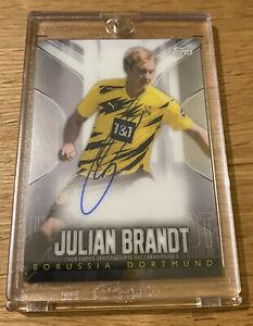 Topps Chrome BVB Transcendent 2020/21 - Julian Brandt Autograph 22/44